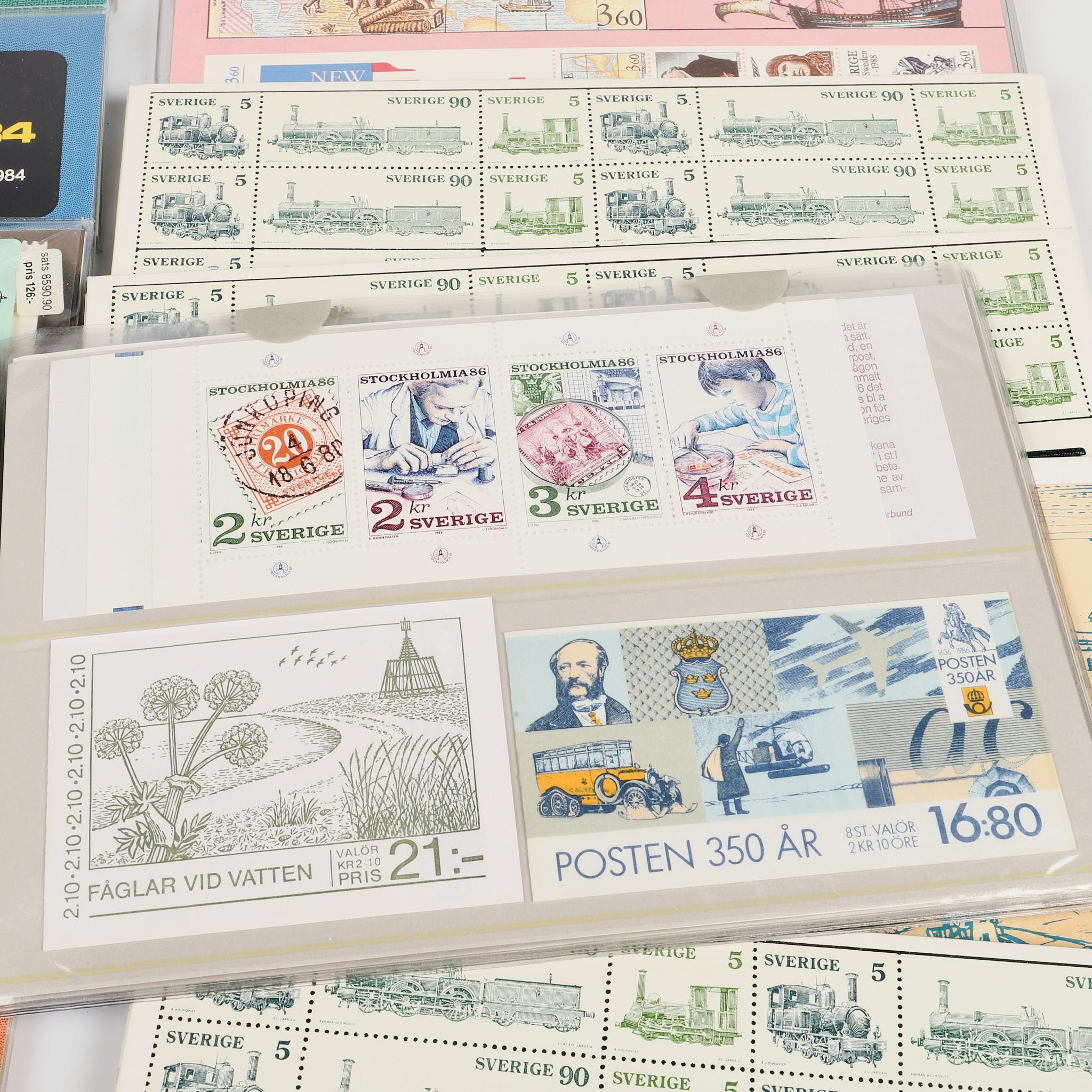 Årssatser är en samling av utgivna frimärken under ett visst år