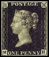 Det första frimärket
