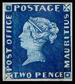 2 Pence Blue är ett av världens dyrast sålda frimärken
