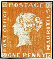1 Penny Orange är ett av världens dyrasta frimärken